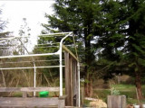 Portable Carport Converted To A Greenhouse YouTube Turn Metal Carport Into Garage