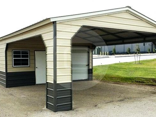 Portable Metal Carport Carports Canada Garage Near Me ...