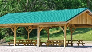 Post And Beam Carport Kit | RevolutionHR Wooden Carports Kits