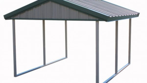 PWS Premium Canopy 10 Ft. X 12 Ft. Light Stone And Patina ..