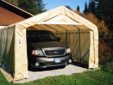 remarkable home exterior portable garages costco carport and shelters for car storage placed on green grass garden idea