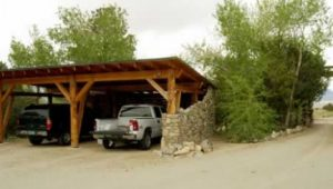 Rustic Car Ports | … , You Can See The Carport To Your ..