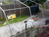 Setting Up A 10×20 Shelterlogic Canopy In One Minute YouTube Tractor Supply Portable Carport