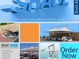 Shade Structures | Parking Shades | Swimming Pool Shades | Smart Shades Carport Parking Lots