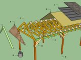 Sheds Ottors: Garage Plans With Lean To Plans For Wooden Carports