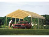 ShelterLogic Super Max Commercial Outdoor Canopy — 26ft.L ..