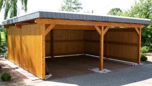 Slant Roof With Enclosed Sides | Carport | Pinterest ..