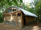 Steel Arched Roof | Curved And Clear Span Roof ..