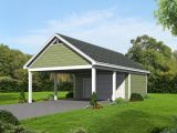 The Garage Plan Shop Blog » Carport Plans Carports Added To Front Of Garage