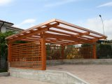 This Modern Wooden Carport Is Design Like A Bee Hive, Unless ..