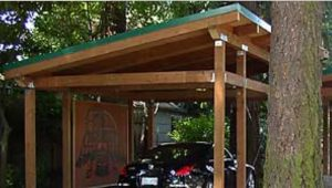 Timber Framed Carport | Shed Roof | House Styles, House ..