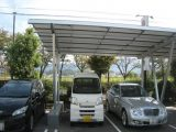 Two Car Solar Panel Carport Ground Mounting System ..