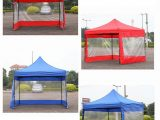 US $9.9 9% OFF|9 Color Polyester Canopy Side Wall Carport Garage Enclosure Shelter Tent Party Sun Wall Sunshade Shelter Tarp Sidewall Sunshade In ..