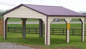Vertical Metal Carports Vertical Roof Carport Carports With Metal Roofs