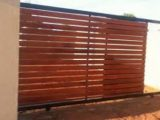 Wooden And Steel Driveway Gates And Steel Carports ..