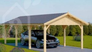 Wooden Garages & Timber Carports [Prefab Kits For Sale] Pics Of Wooden Carports