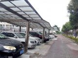 Y Carport Polycarbonate Flat Roof Shelter Metal ..